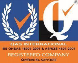qas international registered company certificate