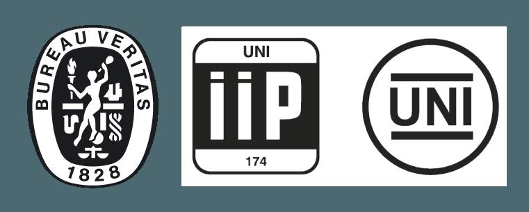 loghi certificati qualità