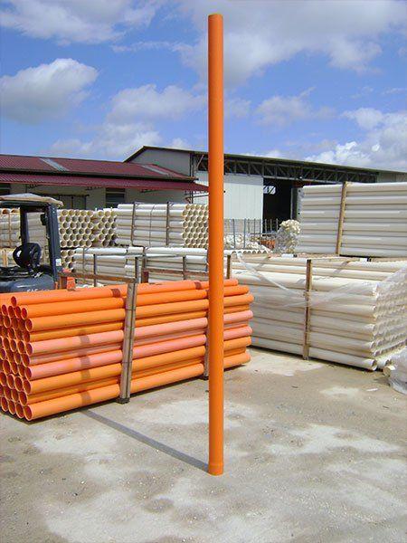 Tubi e tubazioni in PVC per Edilizia, bancali