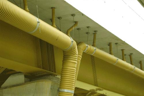 tubi per dranaggio Ecopozzo rivestiti in TNT