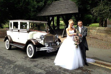 Classicwedding car hire in Runcorn