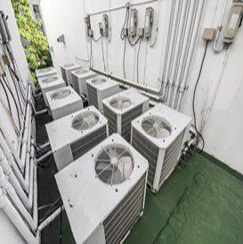 assortimento di impianti di climatizzazione