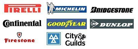 different brands clustered in one image