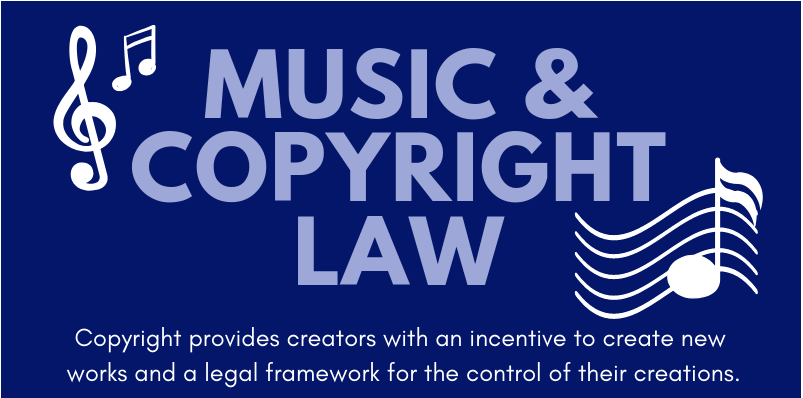 Music and Copyright Law - an infographic