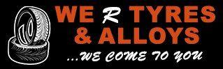 We R Tyres company logo