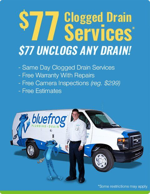 Rancho Cucamonga's Best Drain Cleaning Services | bluefrog