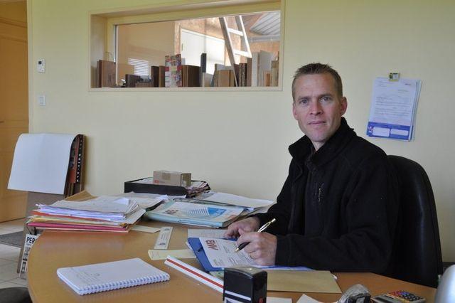 Christophe Bouan, Gérant-Menuisier