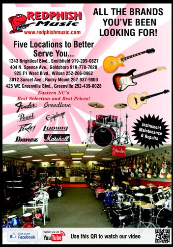 Music Instrument Dealer Wilson, NC
