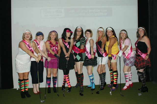 A hen's party at our corporate events in Leeds