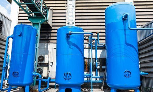 Tanks for compressed air