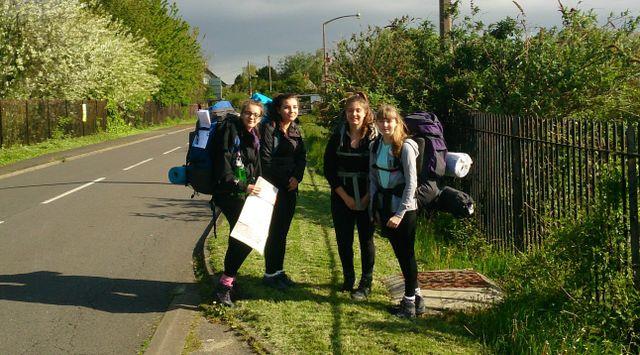 Students ready to go to achieve The Duke of Edinburgh's Award