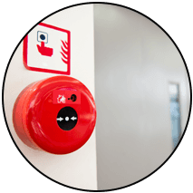 Intruder alarm system installation