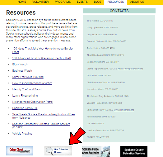 Free national sex offender website