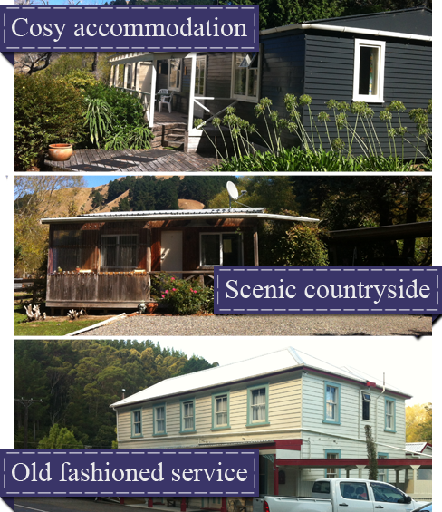 Cottage accommodation in Hawkes Bay