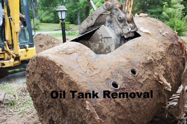 Oil Tank Demolition : Creative landscape design bethlehem ct