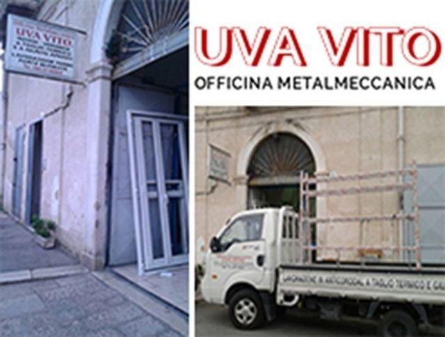 officina metalmeccanica, produzione infissi