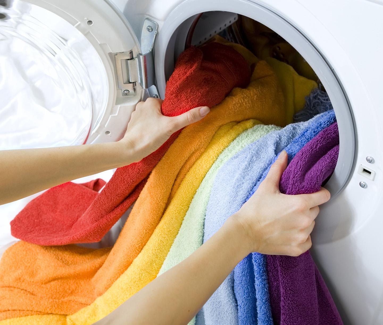 asciugamani colorati da mettere in lavatrice