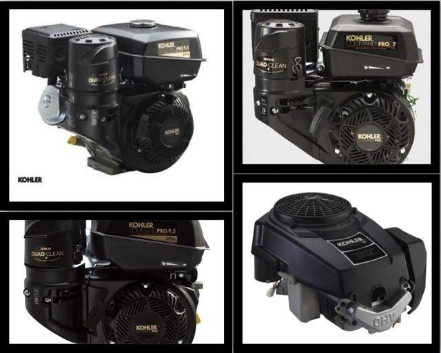 quattro motori per auto fotografati