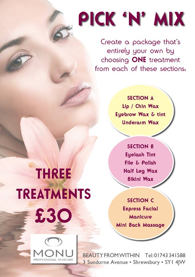 Range Of Beauty Packages For Customers In Shrewsbury