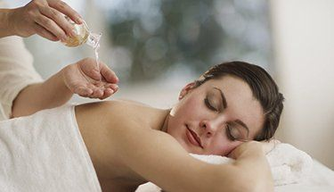 Aromatic massage treatments