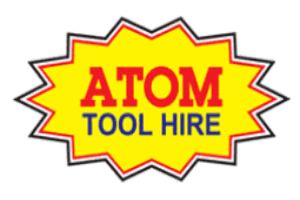 Atom Tool Hire logo