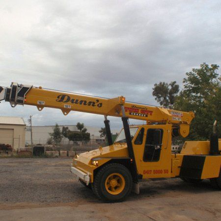 One of our crane hire options in Albury-Wodonga