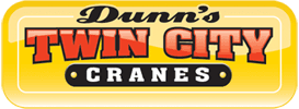 dunns twin city cranes logo