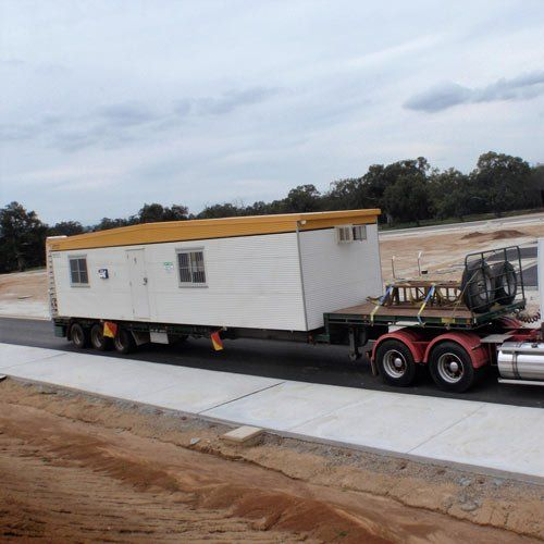 A heavy haulage project in Albury