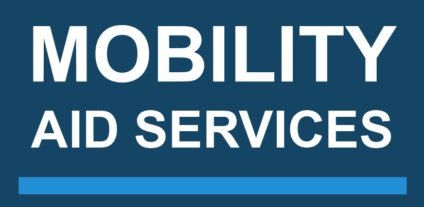 Mobility aid services logo