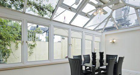 conservatory window glass