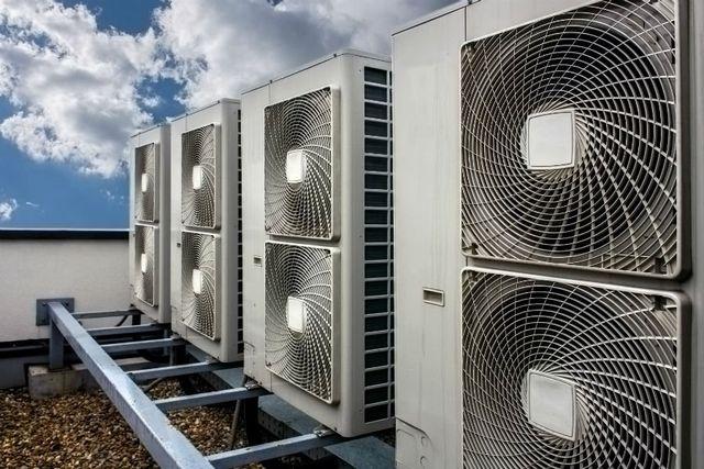 dei motori di un impianto di ventilazione
