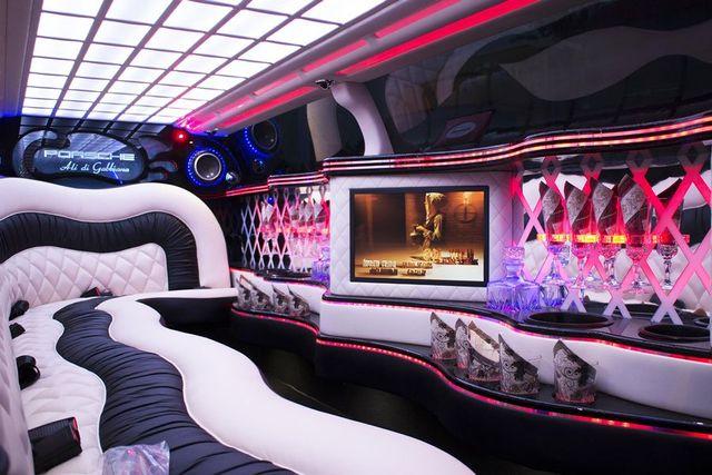 Interni Porsche Panamera Limousine