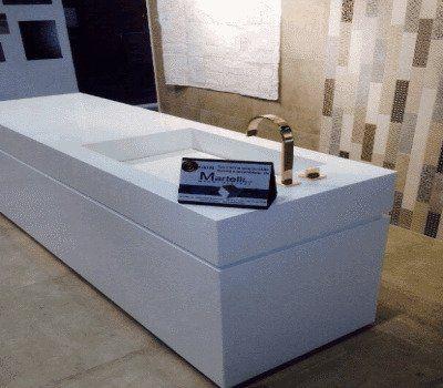 vasca di marmo