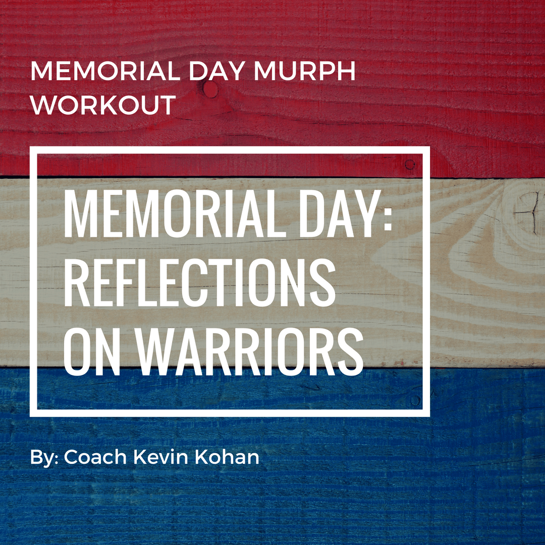 Reflections On Memorial Day >> Memorial Day Reflections On Warriors