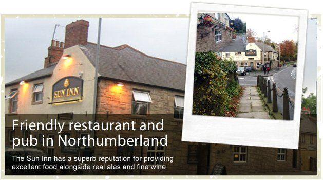 Restaurant - Morpeth, Northumberland - Sun Inn - Restaurant