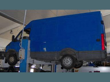 Riparazione furgone