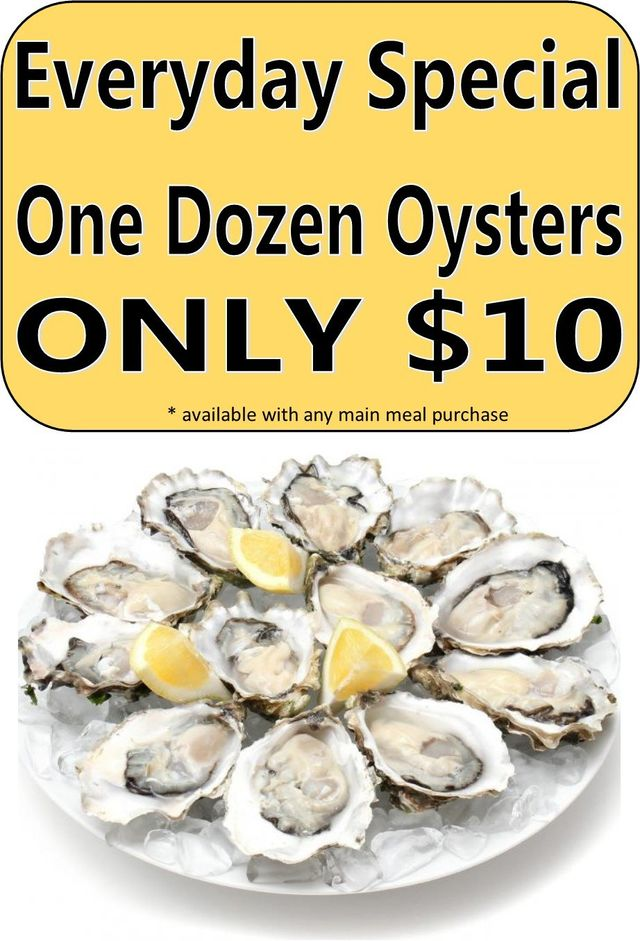 Oyster special offer