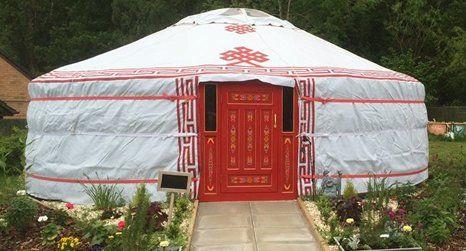 red door tent