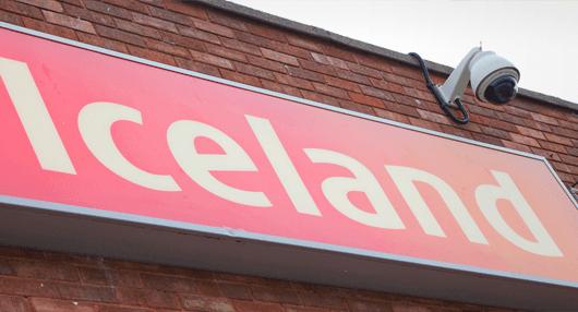 Iceland led board