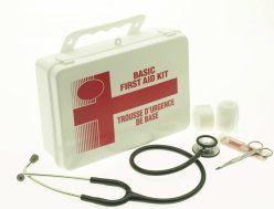 kit pronto soccorso, kit medico sanitario, kit primo soccorso