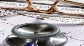 stetoscopio, scheda medica, cardiologia