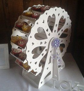 Small Candy Ferris Wheel
