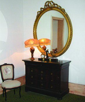 Auctioneer Services - Stockport, Manchester - Coopers Auctioneers - Antique mirror cabinet and chair