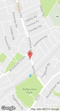 Builders merchants - Croydon, London - Spring Lane Builders Merchants - location map