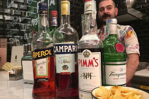 I nostri alcolici, per aperitivi presso Bullonificio Caffetteria a Monza
