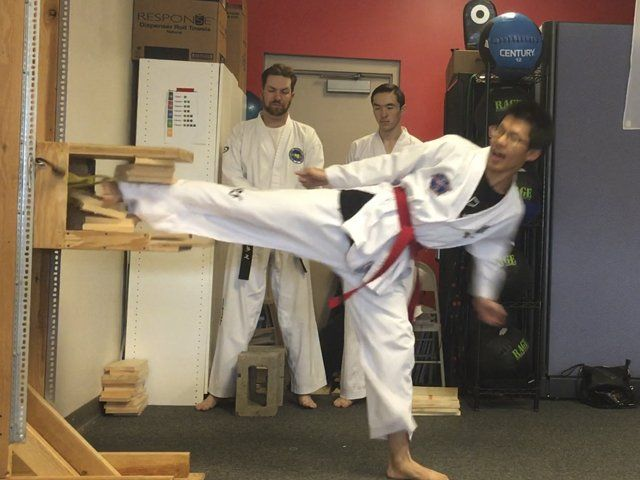 Adult Martial Arts - Breaking