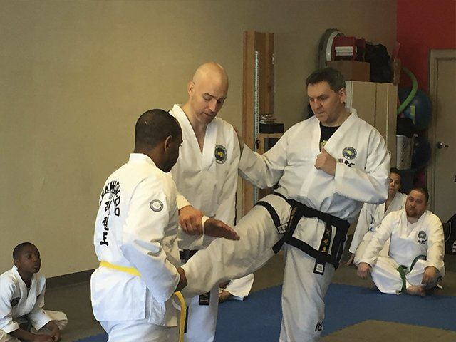 Adult Martial Arts - instruction