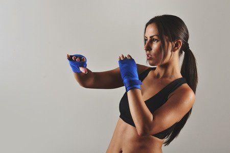 Kickboxing Woman