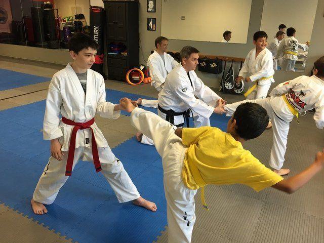 ITF Kids Kicking Drill