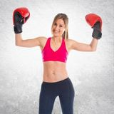 Strong Kickboxing Girl